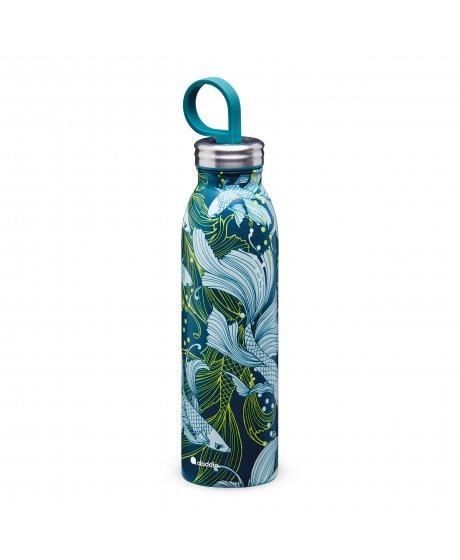 ALADDIN NAITO Chilled Thermavac™ nerezová láhev na vodu 550 ml s vakuovou izolací Goldfish Green