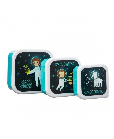 MAXI053 A Space Explorer Lunch Boxes Set 3