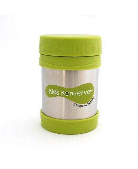 Termoska na jídlo - nerezová - Green 350 ml