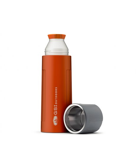 Glacier Stainless Vacuum termoska oranžová