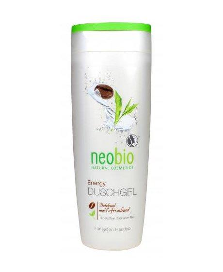 Neobio Sprchový gel Energy Bio Kofein & Zelený čaj 250 ml