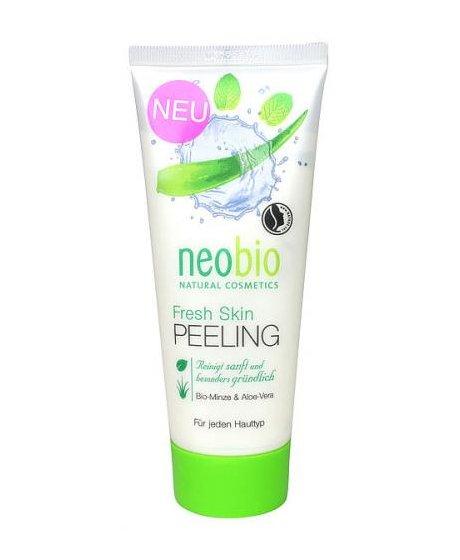 Neobio Fresh Skin Peelíng Bio Máta & Aloe Vera 100 ml