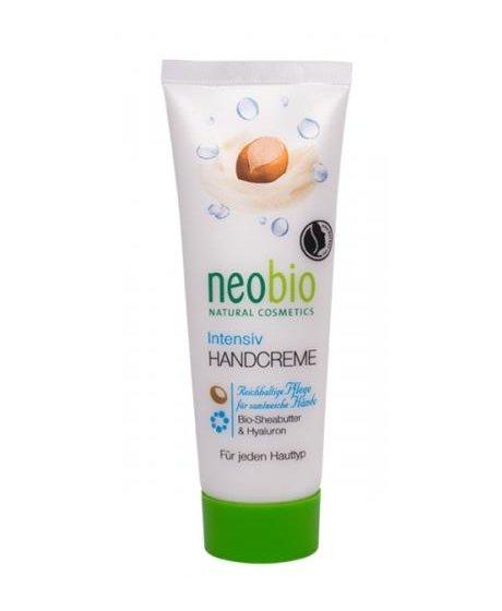 Neobio Intensiv krém na ruce BIO Bambucké máslo & Hyaluron 50 m