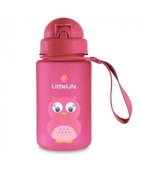Animal Bottle láhev na vodu pro děti 400ml sova
