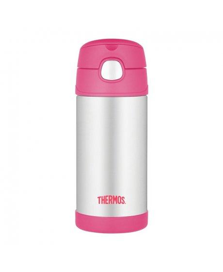 Dětská termoska 355ml - růžová