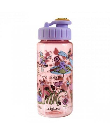 Dětská láhev s brčkem Tajná zahrada - tritan