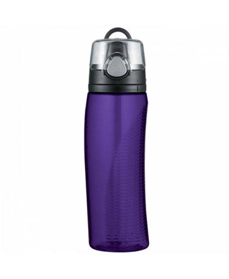 Hydratační láhev s počítadlem - fialová