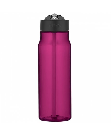 Hydratační láhev s brčkem o objemu 770 ml - purpurová