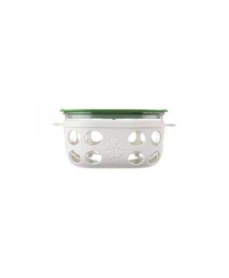 lifefctory doza na jidlo optic white grass green 240 ml a192721