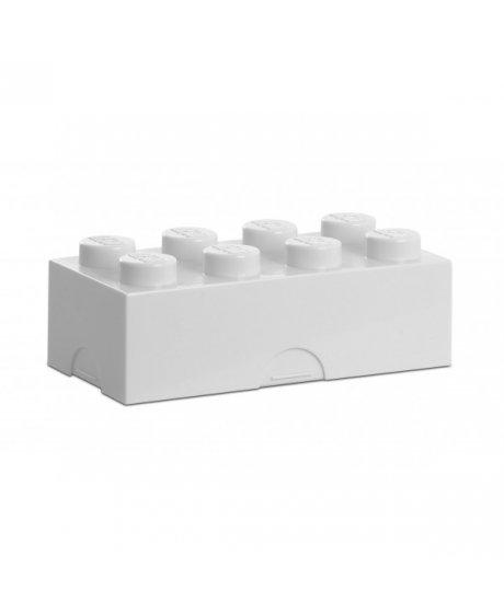 Lego box na svačinu - bílá