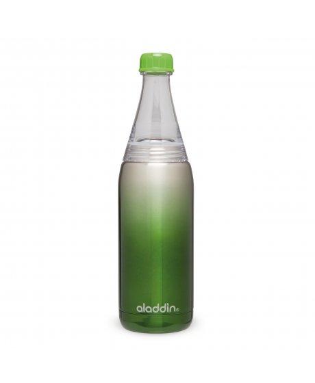 ALADDIN Fresco Twist&Go vakuová láhev na vodu 600ml zelená