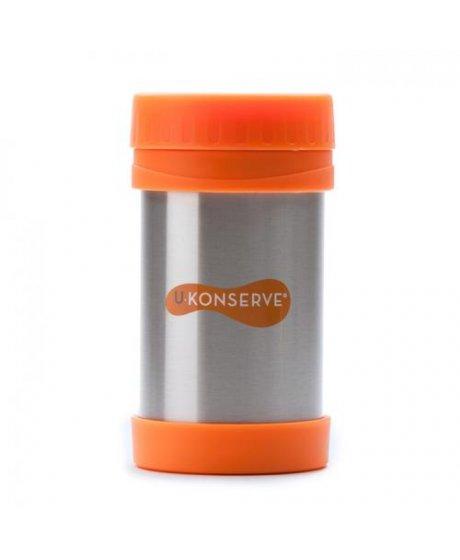 Termoska na jídlo - nerezová - Orange 470 ml