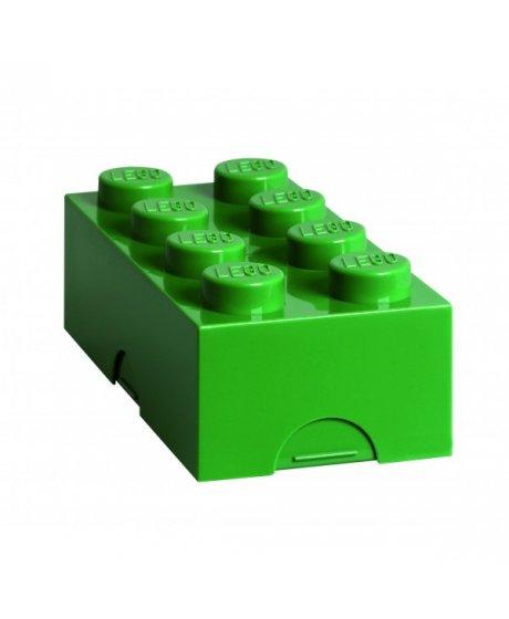 Lego box na svačinu - zelená