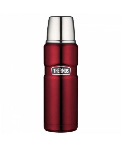 Termoska na nápoje - červená 470 ml