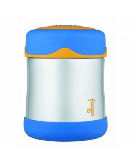 Kojenecká termoska Foogo na jídlo - modrá