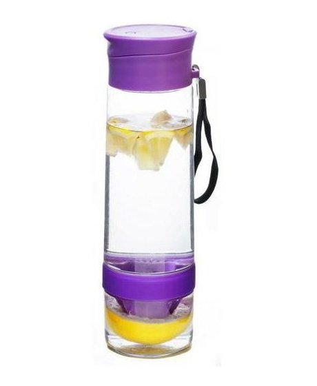 YOKO Design lahev s lisem na citrusy, fialová