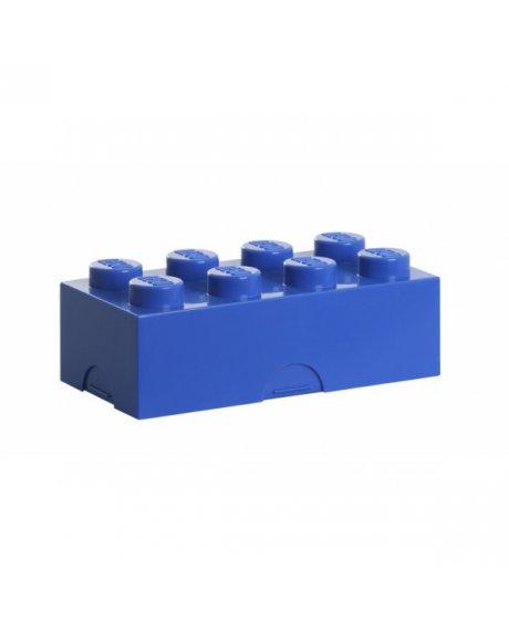 Lego box na svačinu -  modrá