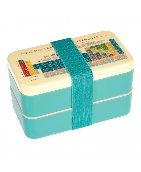 Dvoupatrový svačinový box Rex London - periodická tabulka