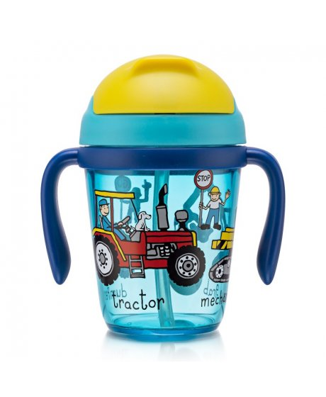 tyrrell katz trucks toddler bottle
