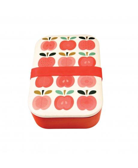 Svačinový box z bambusu Rex London - Vintage jablíčka