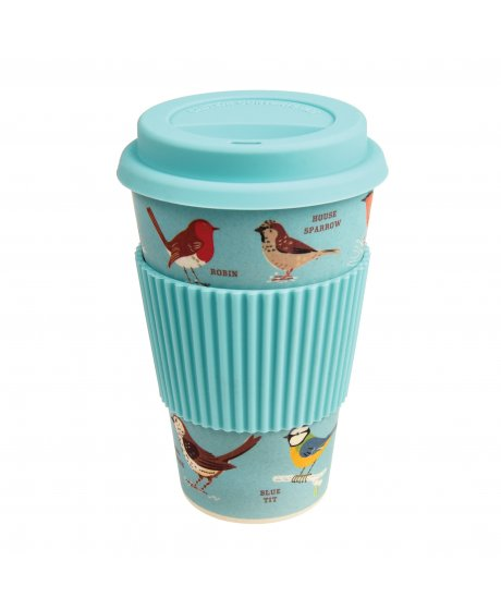 Cestovní hrnek Rex London - GARDEN BIRDS