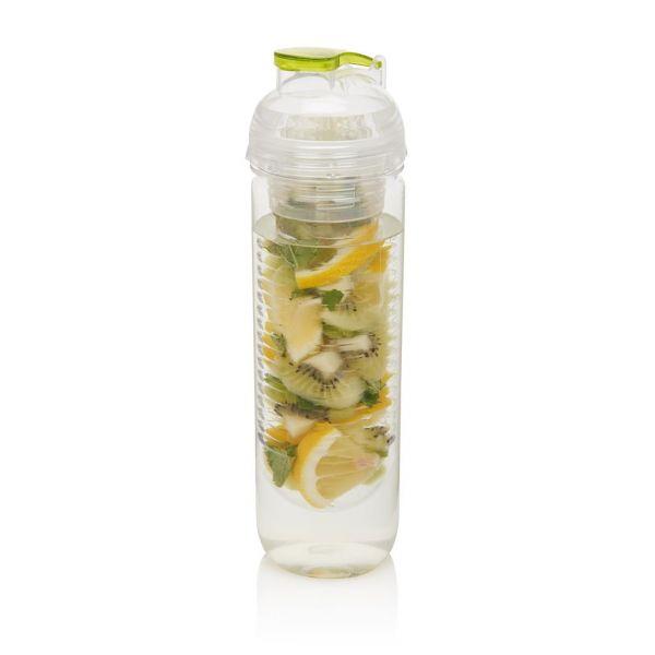 Looogs láhev s košíkem na ovoce, zelená 500 ml