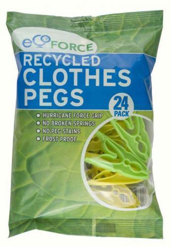 Kolíčky na prádlo EcoForce 24 ks