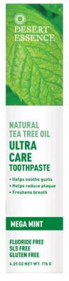 Desert Essence Pasta na zuby MINT – tea tree olej a máta 130 ml