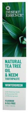 Desert Essence Pasta na zuby NEEM – Tea tree a Neem 130 ml