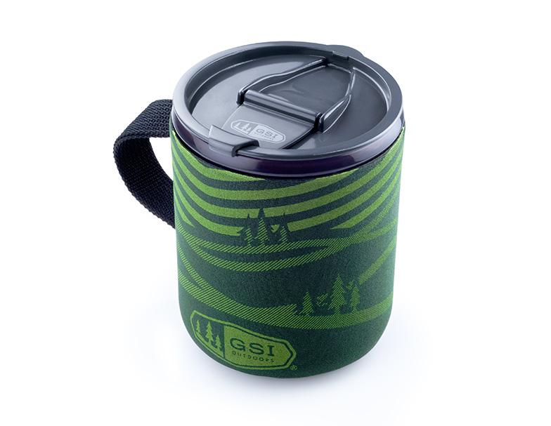 GSI Outdoors Infinity Backpacker hrnek zelený 500ml