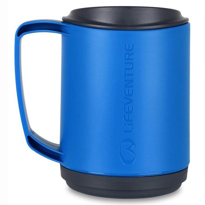 LifeVenture Elipse termohrnek s dvojitou stěnou modrý 350 ml