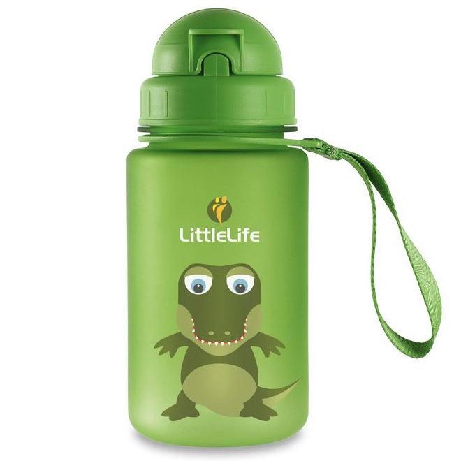LittleLife Animal Bottle láhev na vodu pro děti 400ml krokodýl
