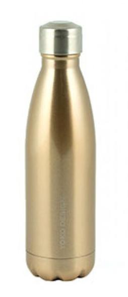 Yoko Design Isothermal Bottle termolahev 500ml zlatá lesklá