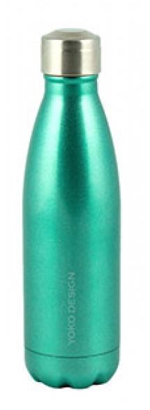 Yoko Design Isothermal Bottle termolahev 500ml zelená lesklá