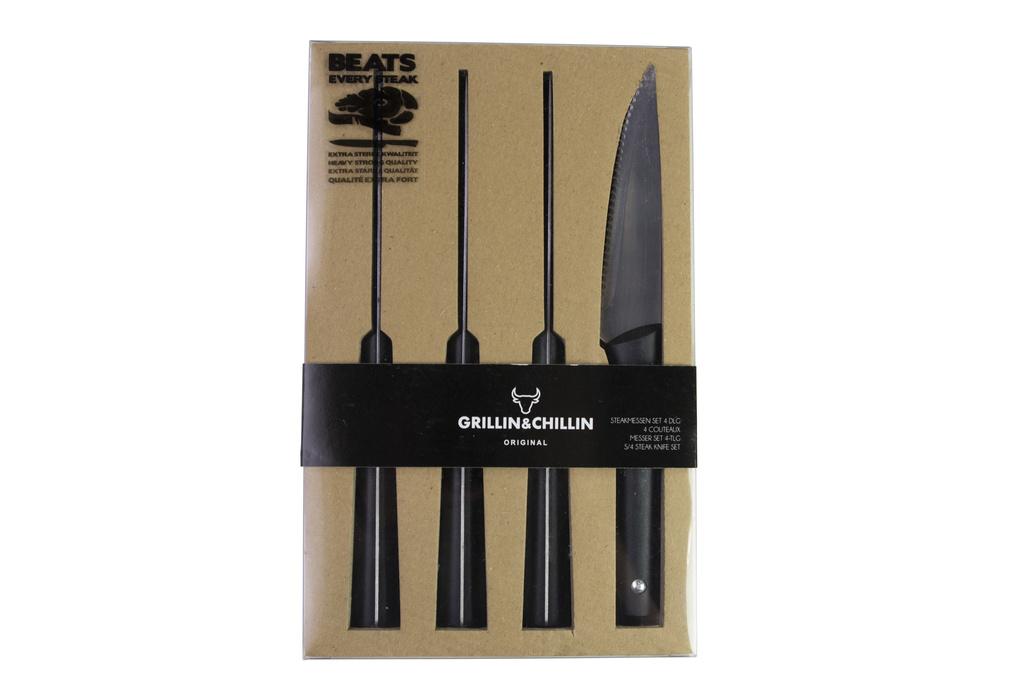 Steakové nože GUSTA 4 kusy