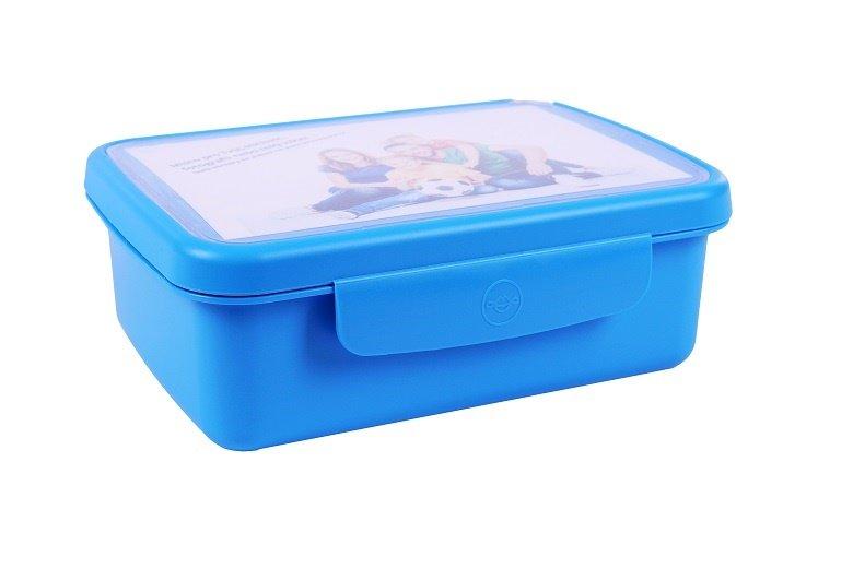 Zdravá lahev Svačinový box Zdravá sváča - modrá