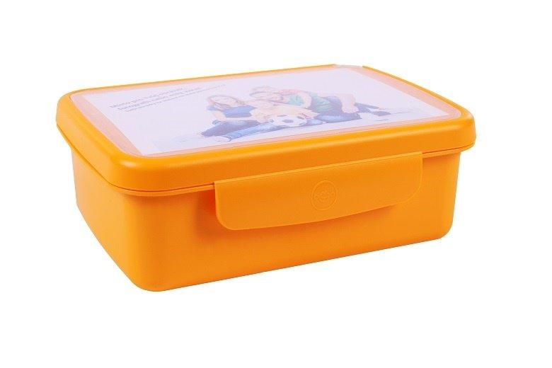 Zdravá lahev Svačinový box Zdravá sváča - oranžová