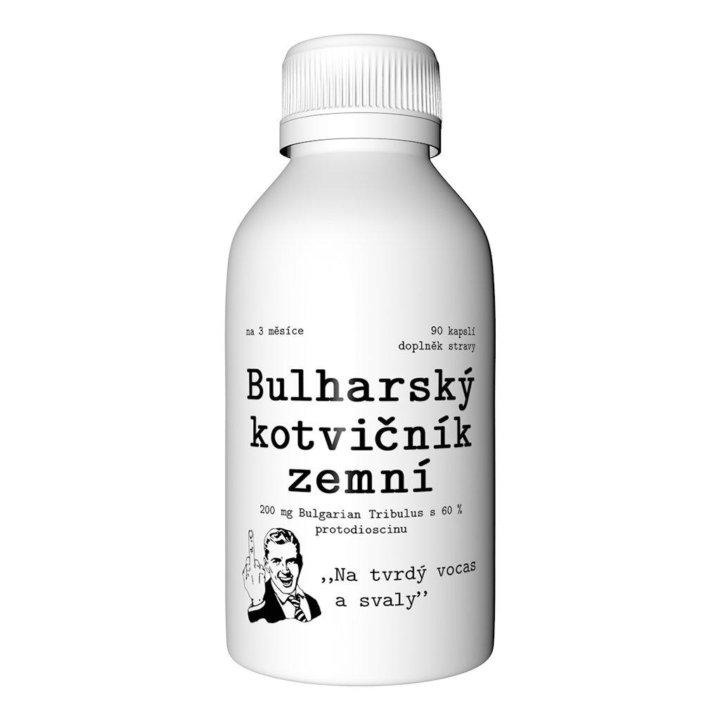 Bulharský kotvičník zemný v kapslích 90 01
