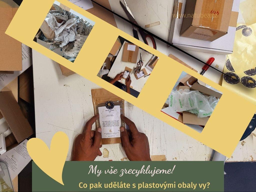 Ze zákulisí NatuBea: Vše o balení zásilek a recyklaci obalů
