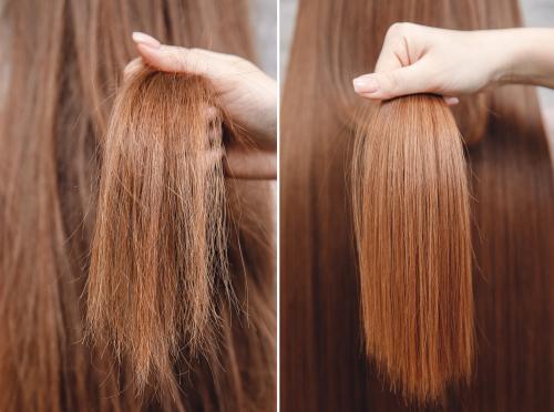 Tipy, jak pečovat o barvené a jinak poškozené vlasy s ohledem na poréznost vlasů