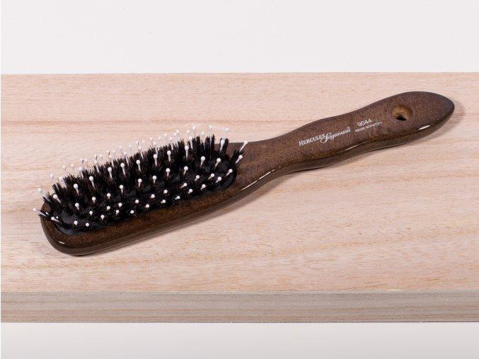 Plochý kartáč na vlasy k česání