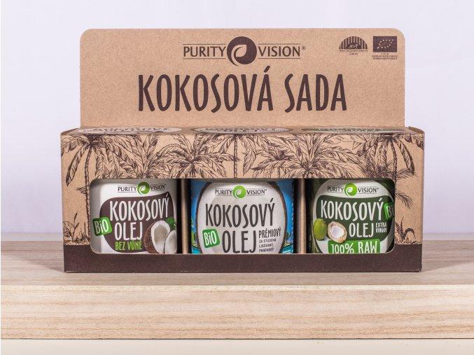 Kokosová sada PURITY VISION 120 ml
