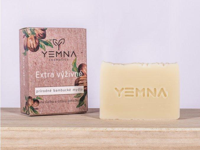 Extra výživné bambucké mýdlo 100 g