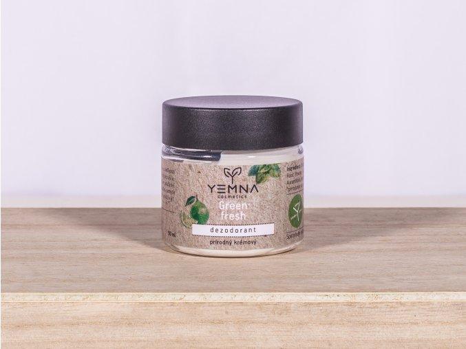 Green & Fresh krémový deodorant