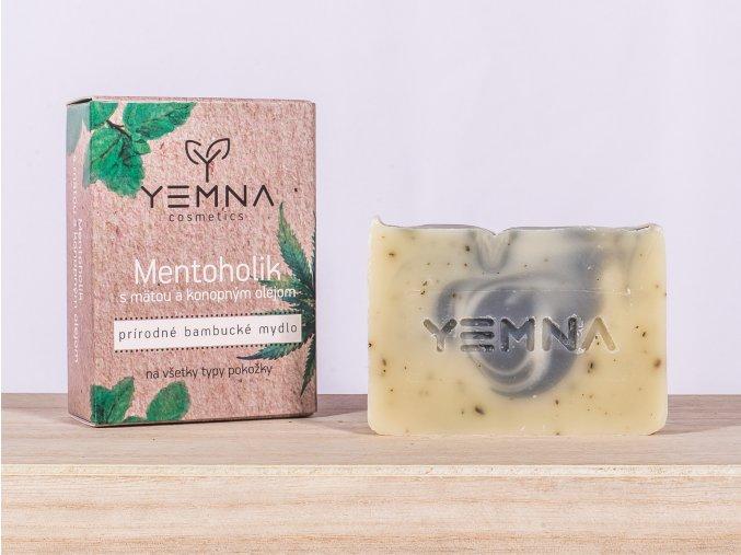 Mentoholik - mýdlo s mátou a konopným olejem 100 g