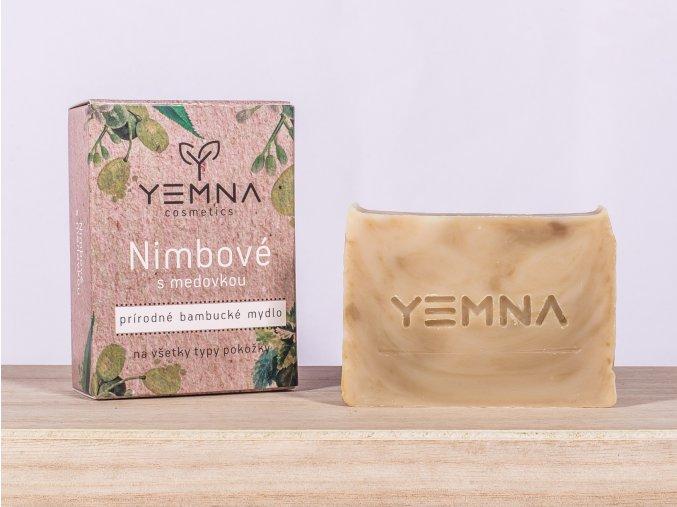 Neem s meduňkou - přírodní mýdlo 100 g