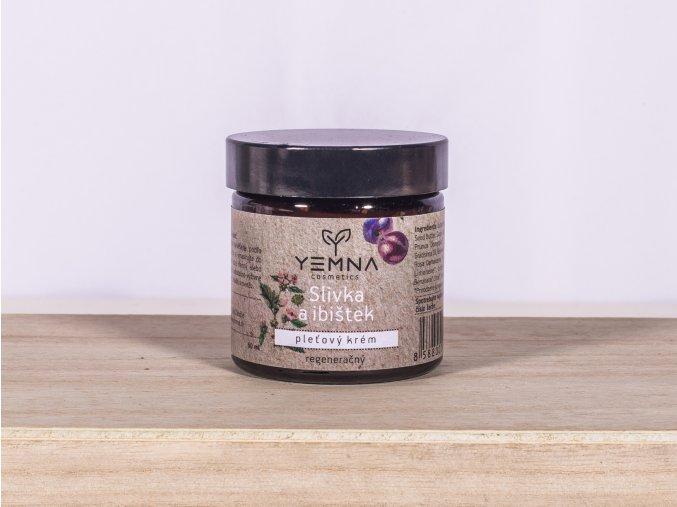 Švestka & Ibišek - pleťový krém 60 ml