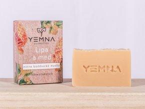Lípa a med - extra bambucké mýdlo