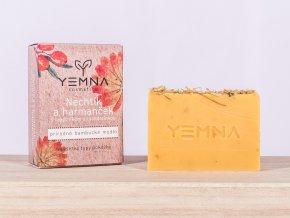 Měsíček a heřmánek - přírodní mýdlo 100 g