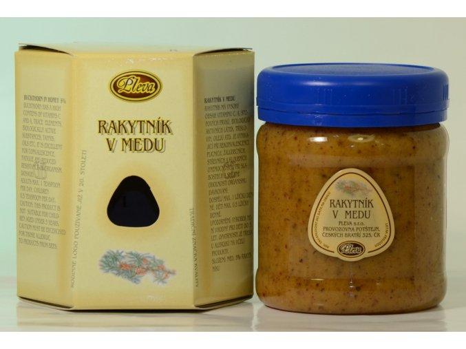 Rakytník v medu Pleva